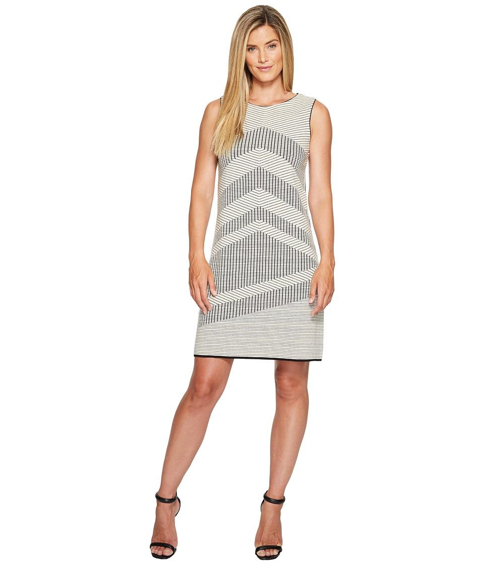 NIC+ZOE Knit Mantra Dress (Creme Brulee) Women