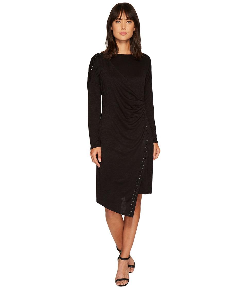 NIC+ZOE Every Occasion Stud Dress (Black Onyx) Women