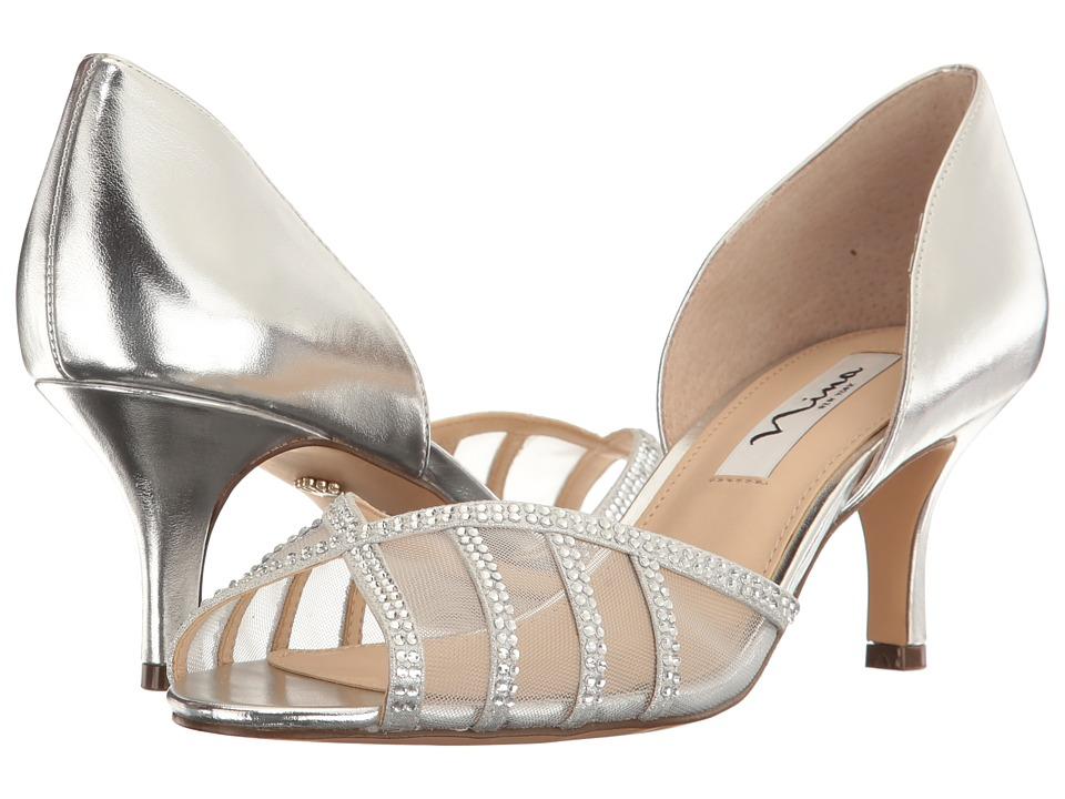 Nina - Corita (Silver/True Silver) High Heels