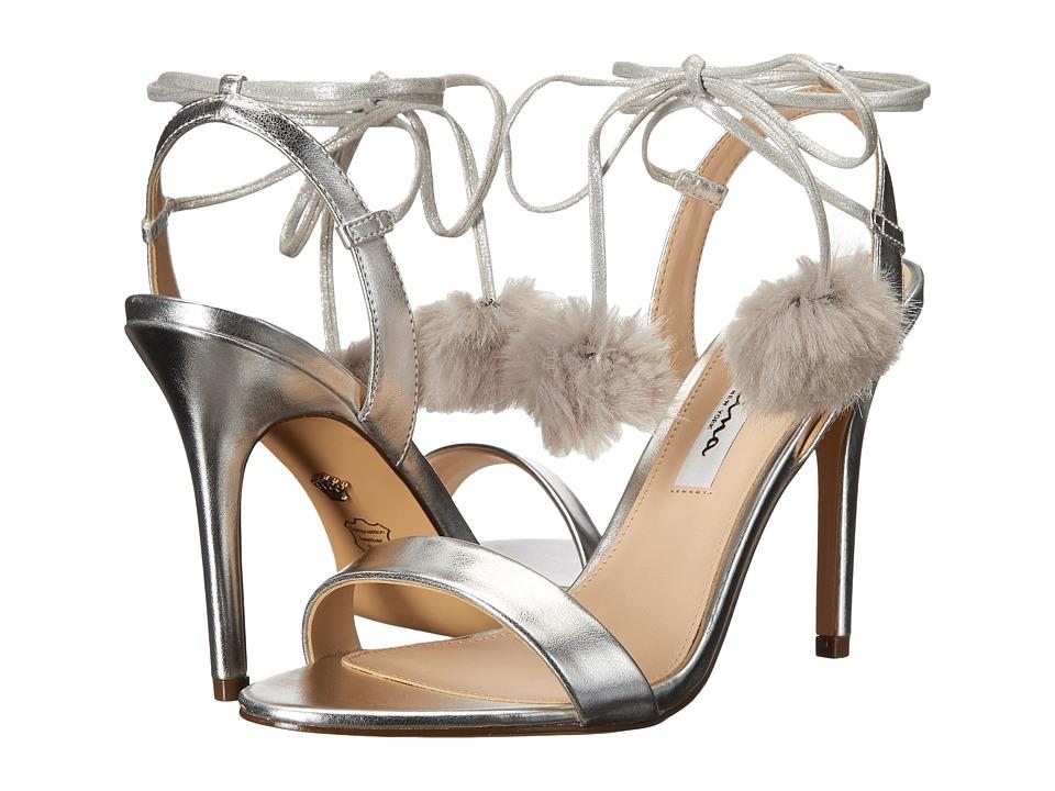 Nina Madele (Silver/Grey) High Heels