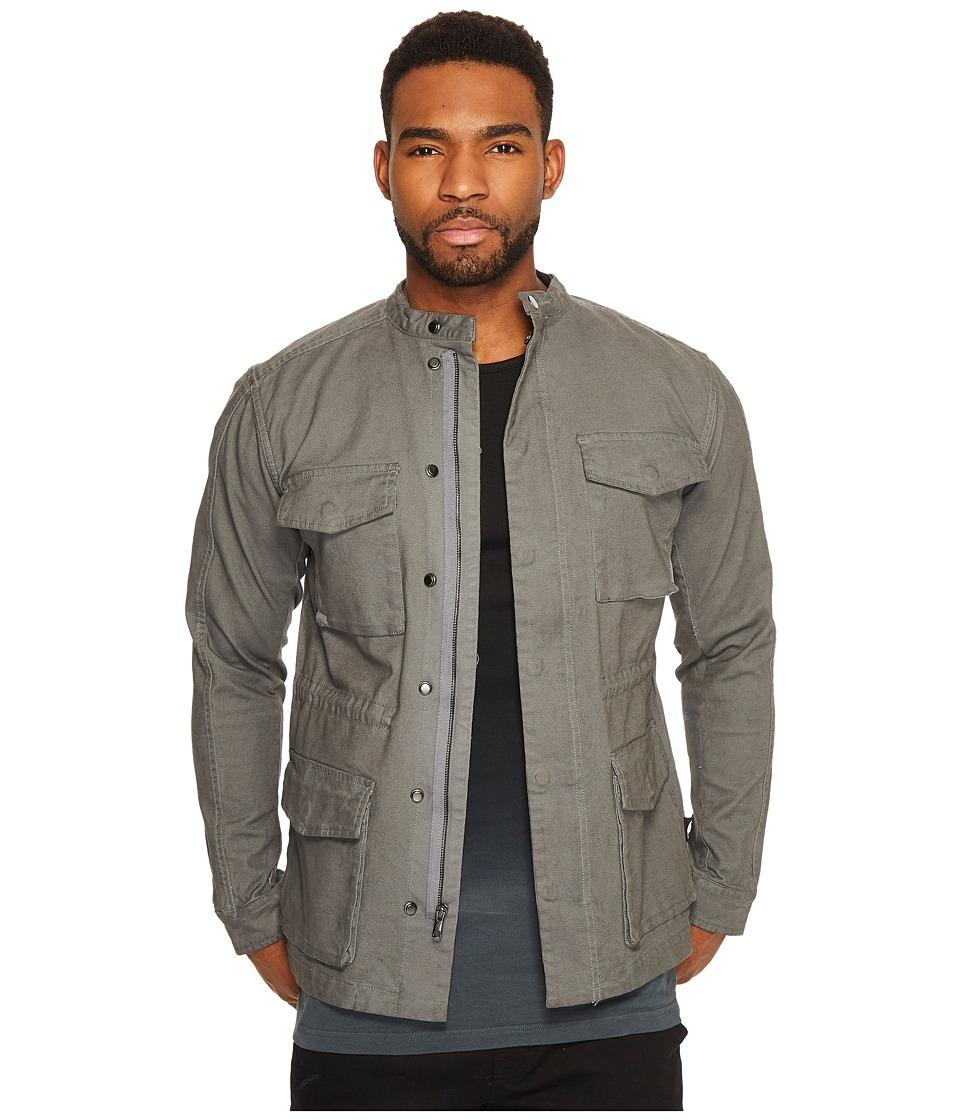Publish - Denzel Cargo M-65 Jacket (Grey) Men's Coat