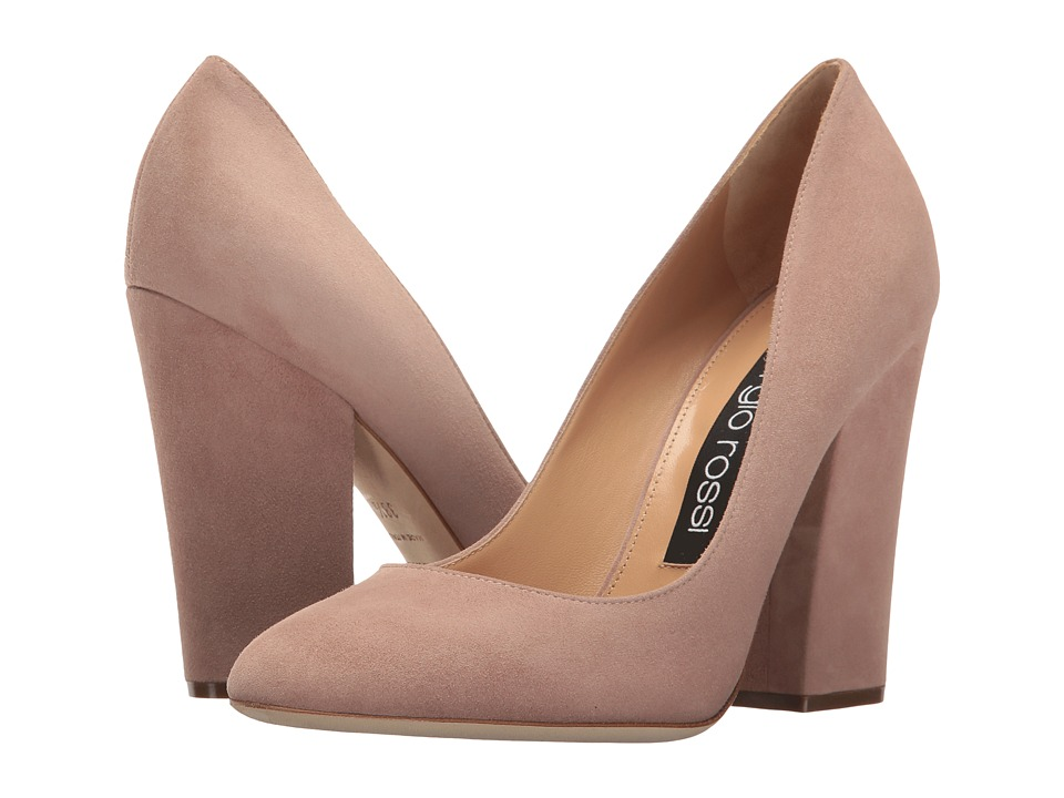 Sergio Rossi Virginia (Cipria Royal) High Heels
