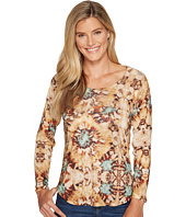 Nally & Millie - Tie-Dye Printed Long Sleeve Top