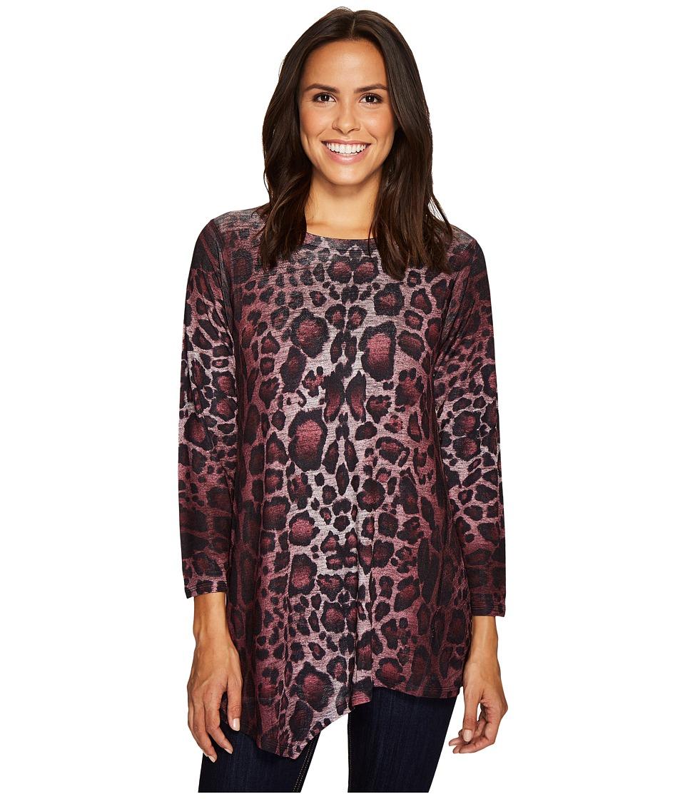 Nally & Millie - Leopard Print Asymmetric Tunic