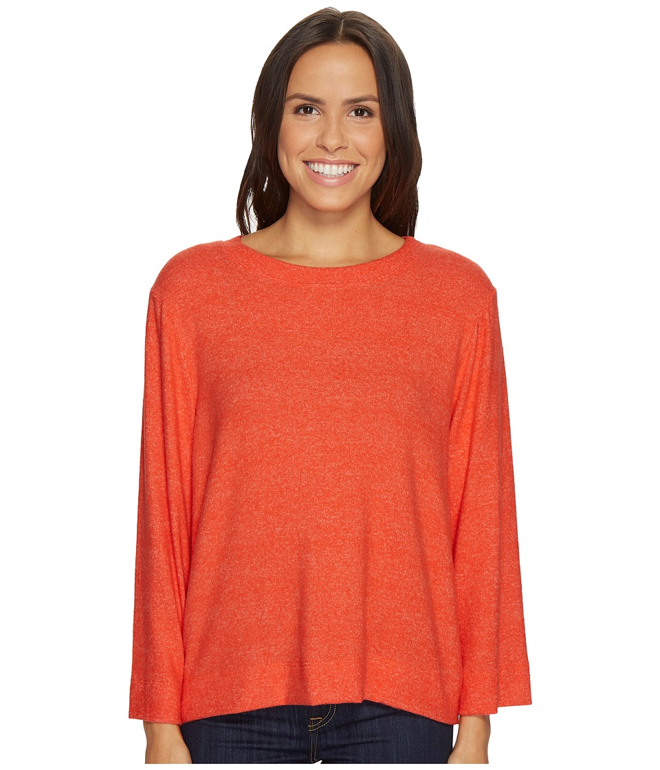 Nally & Millie Nally & Millie - Long Sleeve Brushed Sweater Top