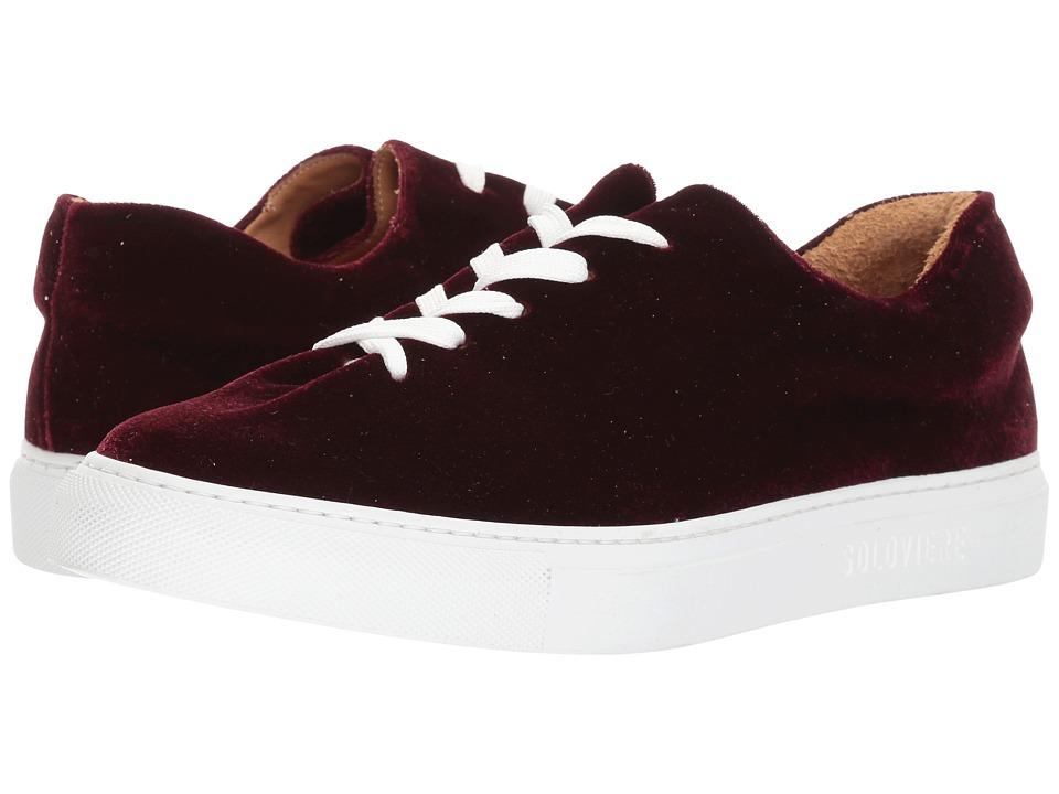 SOLOVIERE - Velvet Sneaker