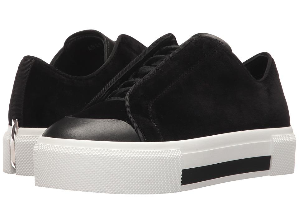 Alexander McQueen Low Cut Lace-Up Sneaker (Black/Black/Black/Black) Women