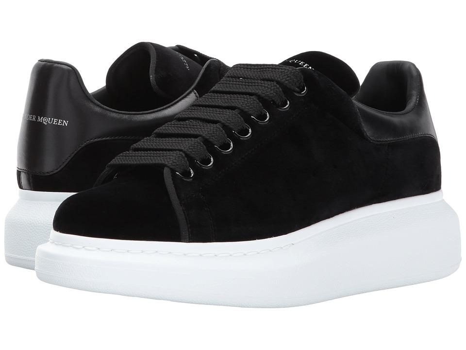 Alexander McQueen Oversized Sneaker (Black/Black/Black) Women