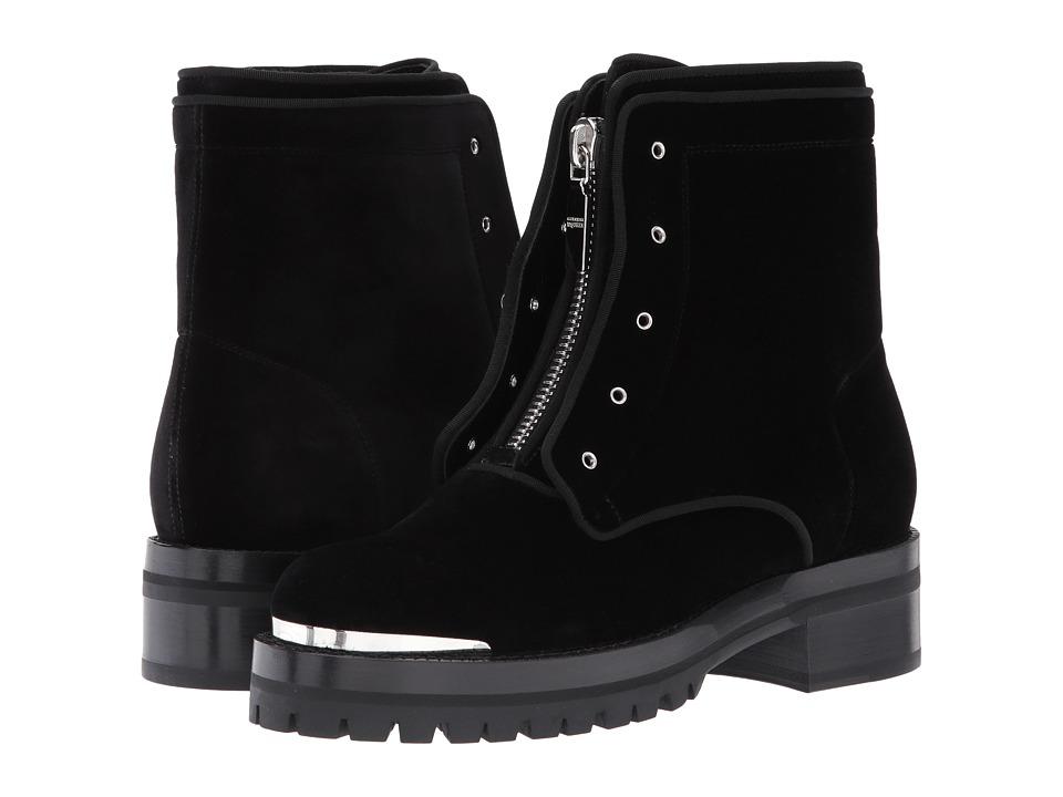 Alexander McQueen Biker Boot (Black/Black) Women