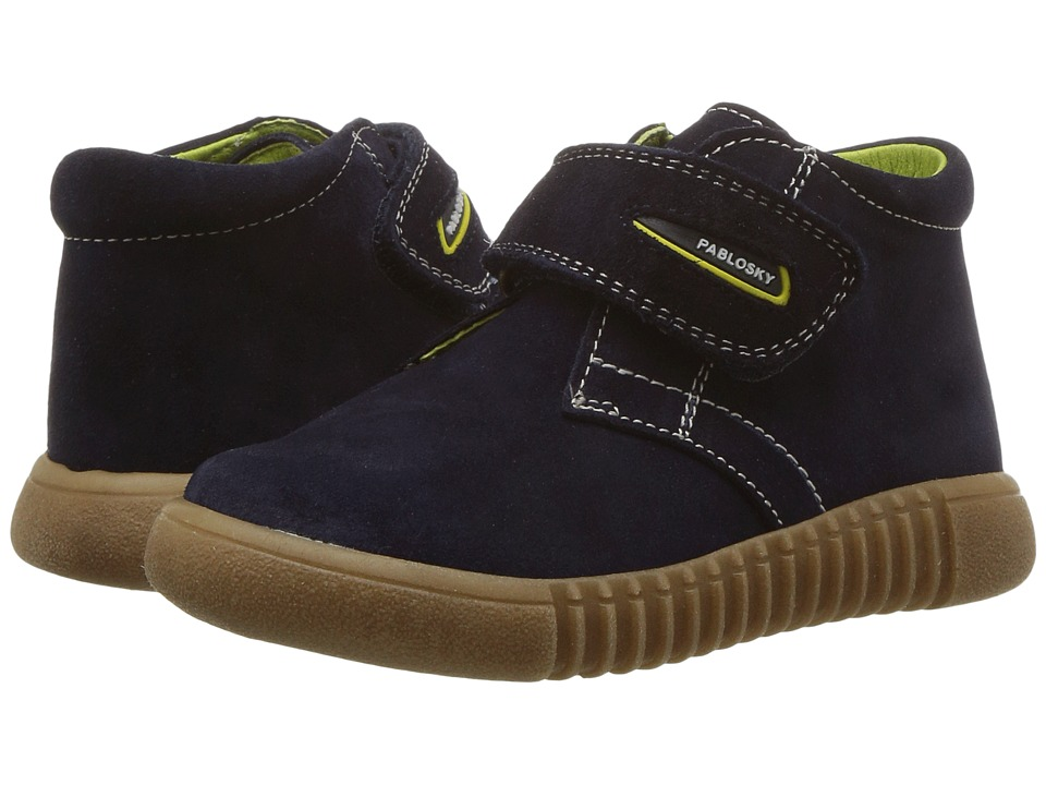 Pablosky Kids 0167 (Toddler/Little Kid) (Navy) Boy's Shoes