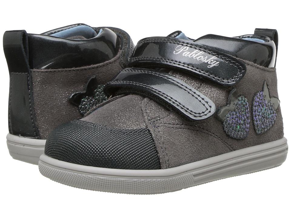 Pablosky Kids 0151 (Infant/Toddler) (Grey) Girl's Shoes