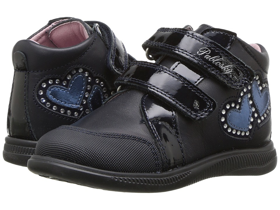 Pablosky Kids 0210 (Toddler/Little Kid) (Navy) Girl's Shoes
