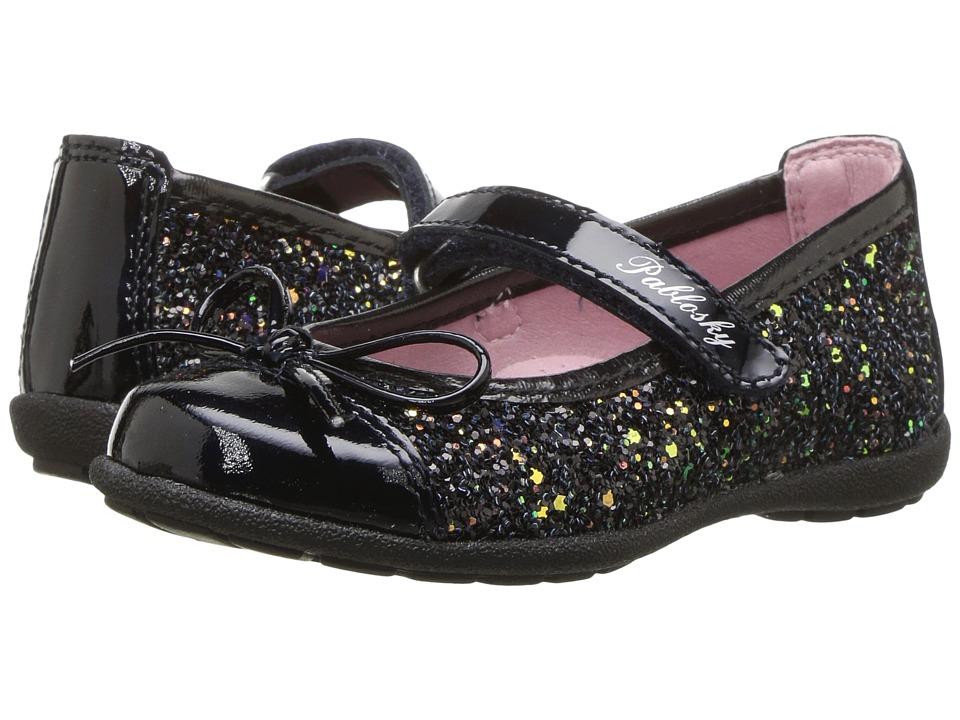 Pablosky Kids 3221 (Toddler/Little Kid/Big Kid) (Navy) Girl's Shoes