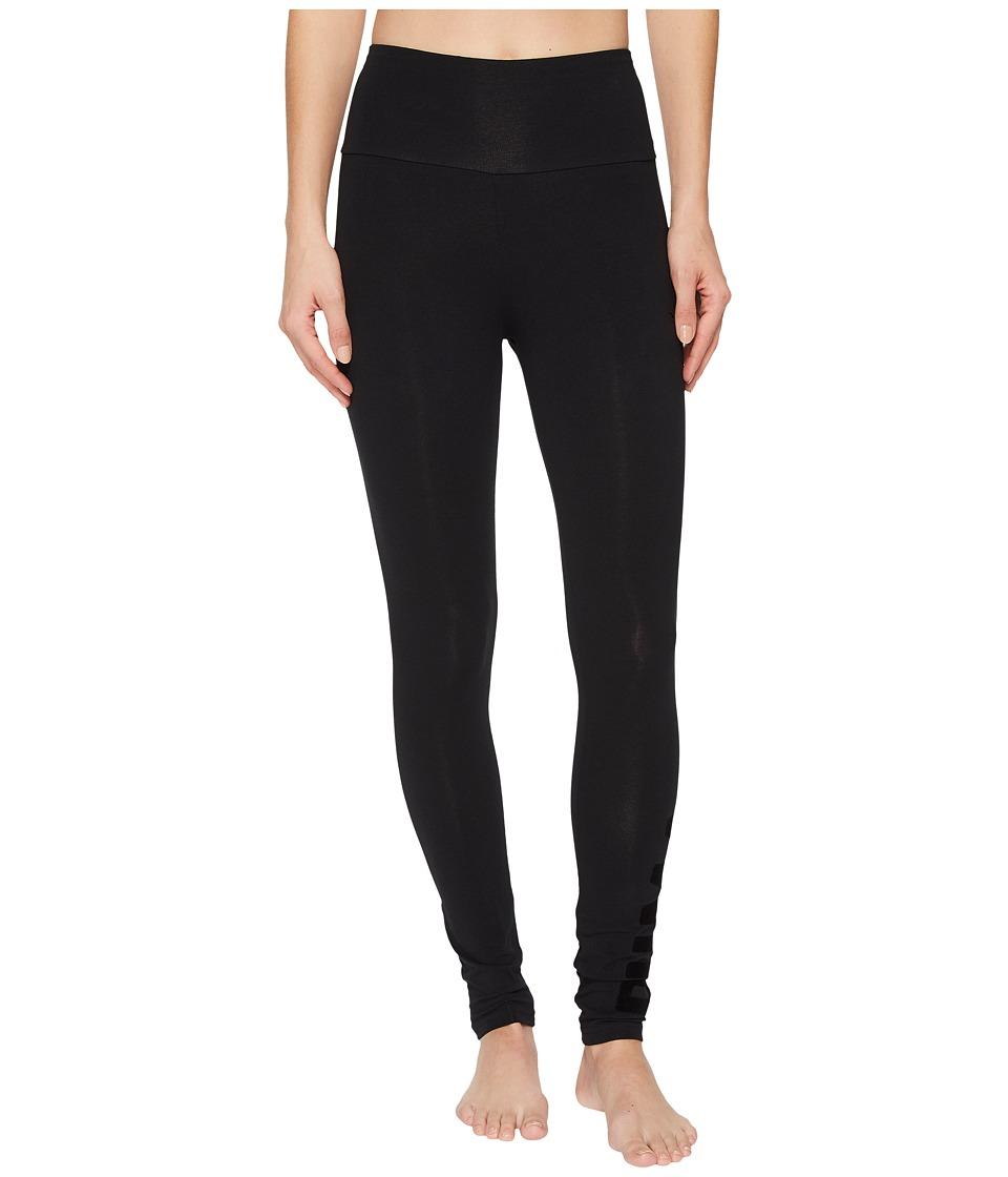 PUMA Athletic Leggings (Cotton Black Velvet) Women