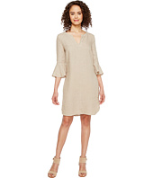 Three Dots - Ruffle Sleeve Dress