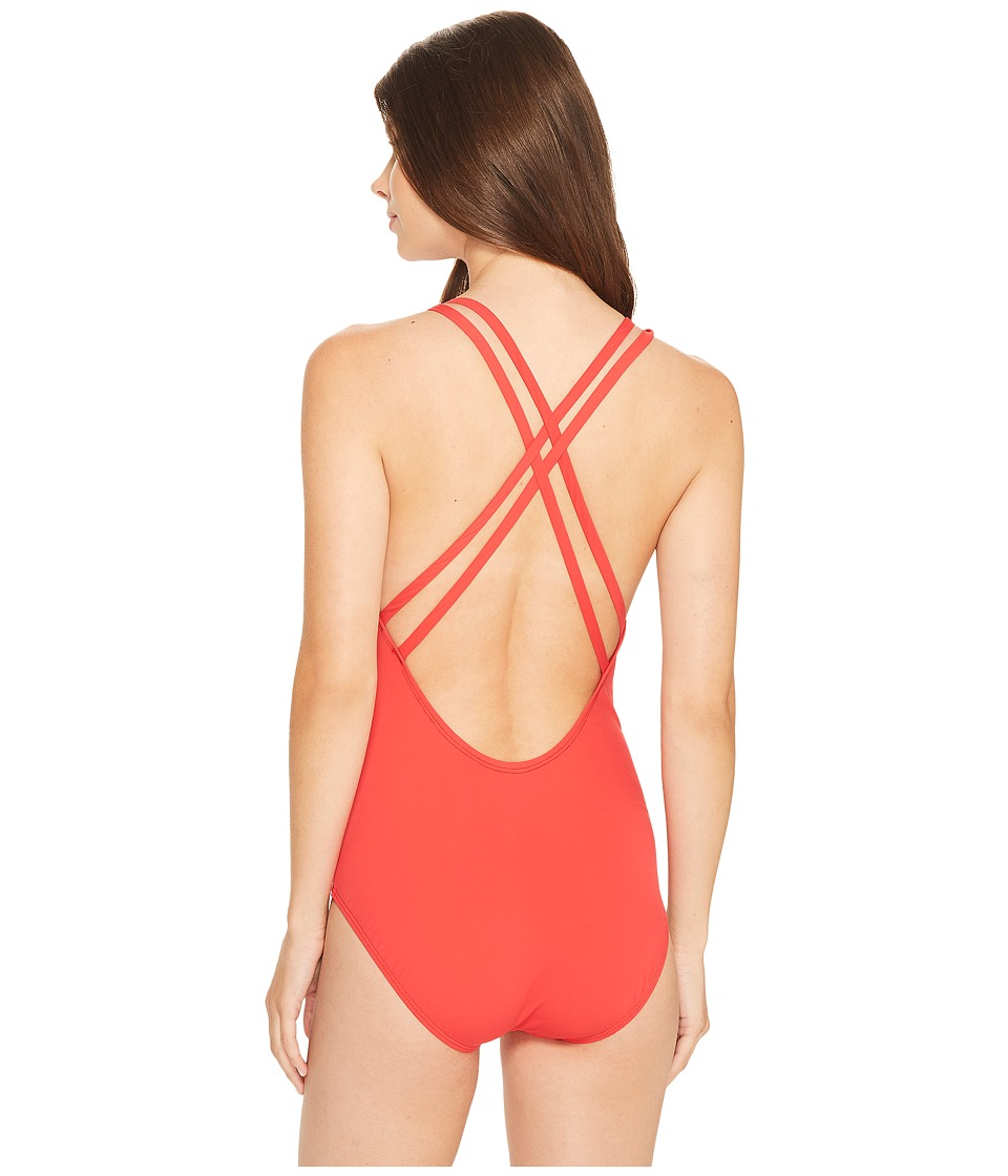 Athena - Solid Crisscross One-Piece
