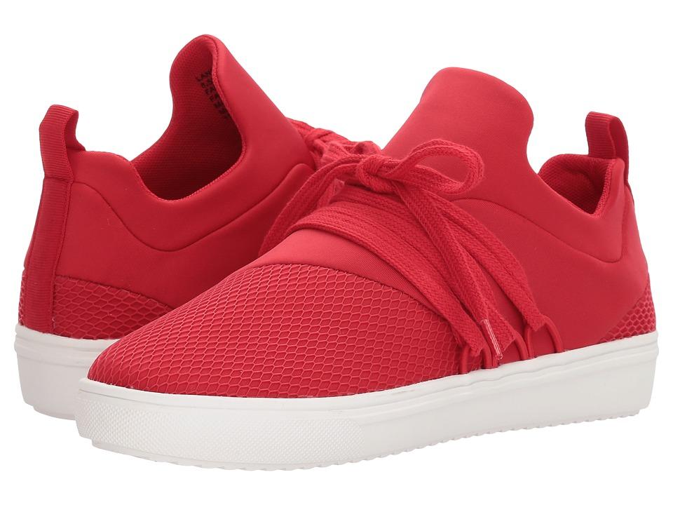 Steve Madden Lancer Sneaker (Red) Women's Shoes