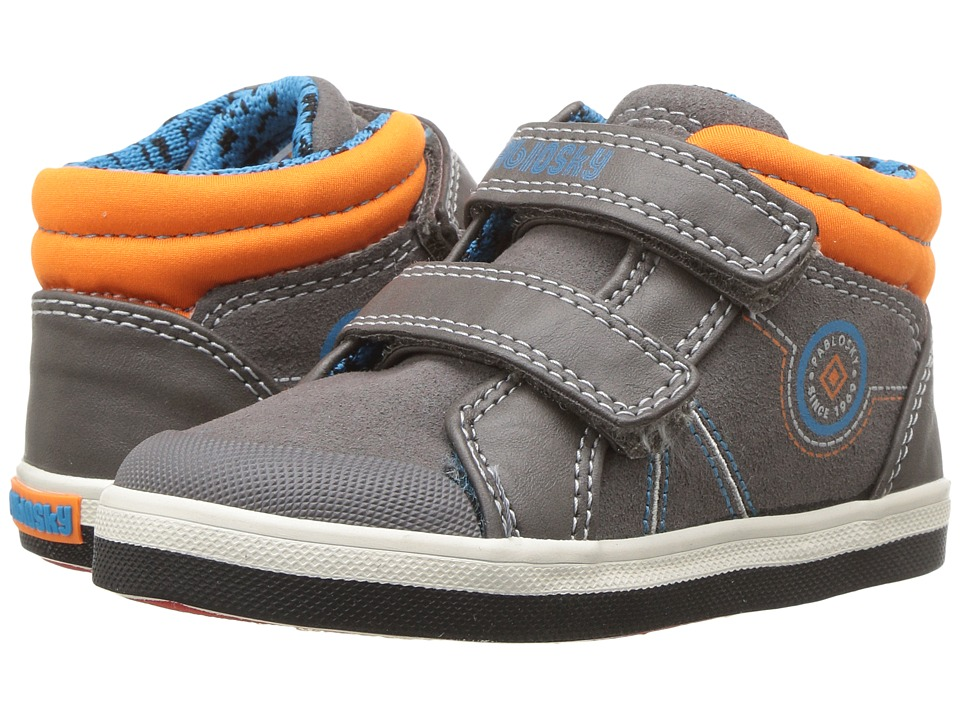 Pablosky Kids 9443 (Toddler/Little Kid) (Grey) Boy's Shoes