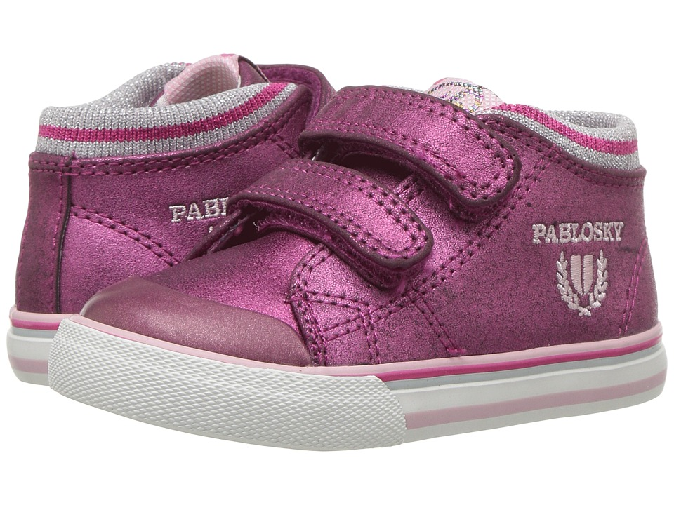 Pablosky Kids 9445 (Toddler/Little Kid) (Magenta) Girl's Shoes