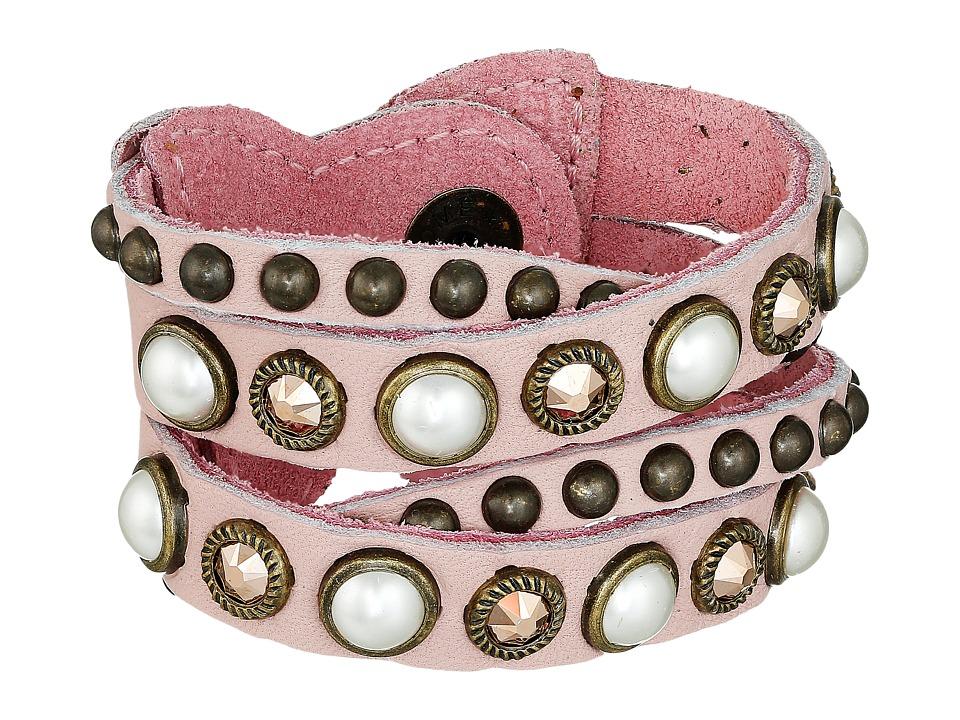 Leatherock - B508 (Blush) Bracelet