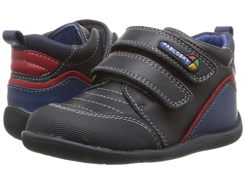 Pablosky Kids 0136 (Infant/Toddler) (Navy) Boy's Shoes