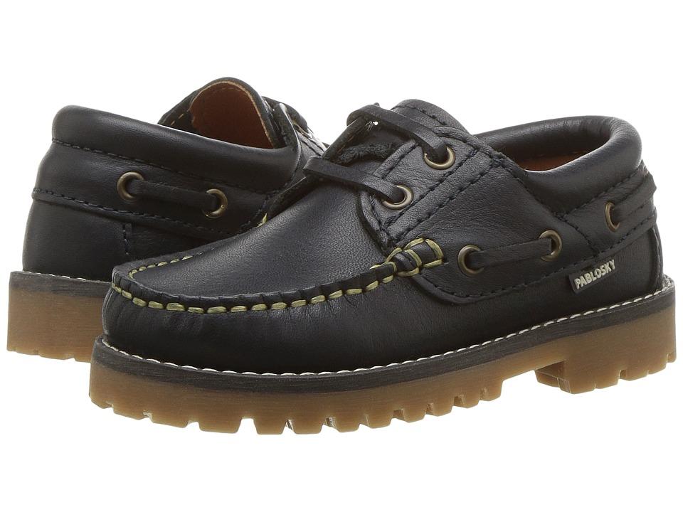 Pablosky Kids 1226 (Toddler/Little Kid/Big Kid) (Navy) Boy's Shoes