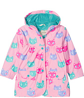 Hatley Kids - Silly Kitties Raincoat (Toddler/Little Kids/Big Kids)