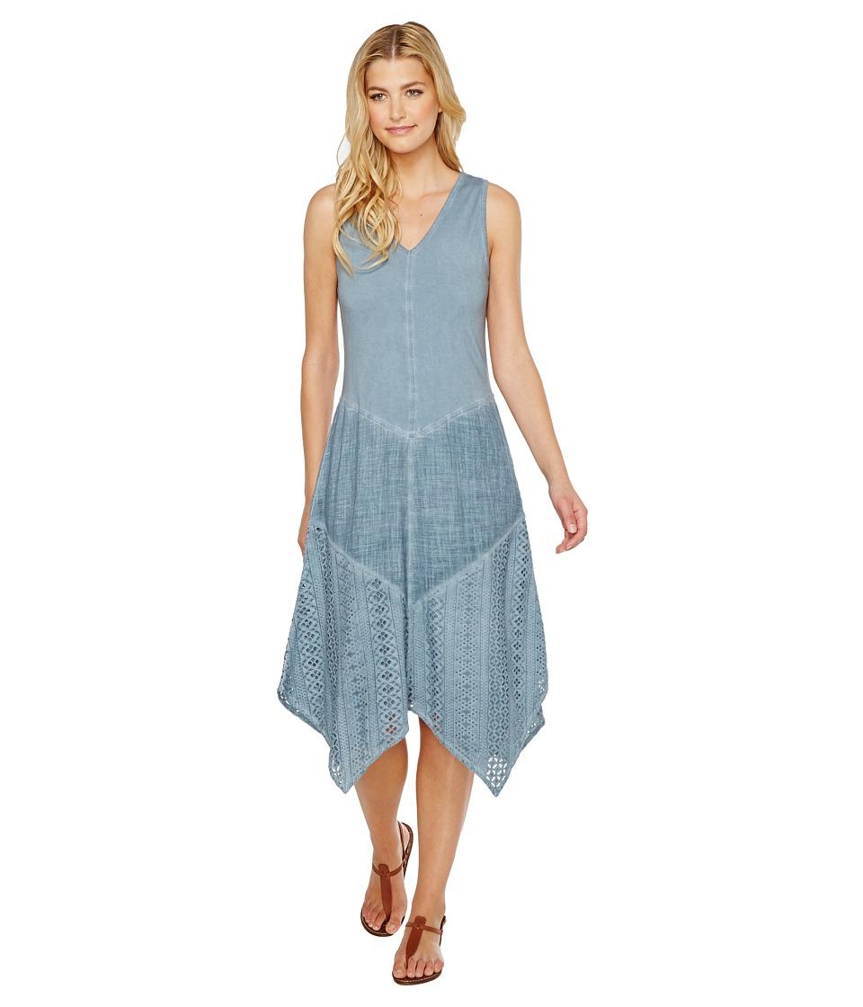 XCVI Rei Dress (Cold Wash Blue) Women