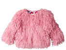 Pink Faux Mongolian Fur Coat (Toddler/Little Kids/Big Kids)