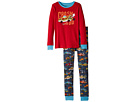 Hatley Kids Monster Cars Applique Pajama Set (Toddler/Little Kids/Big Kids)