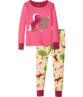 Hatley Kids - Pony Appliqué Pajama Set (Toddler/Little Kids/Big Kids)