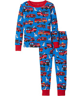 Hatley Kids - Fire Trucks PJ Set (Toddler/Little Kids/Big Kids)