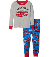 Hatley Kids - To The Rescue PJ Set (Toddler/Little Kids/Big Kids)