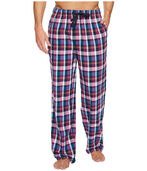 Tommy Bahama Brushed Twill Flannel Plaid Pajama Pants