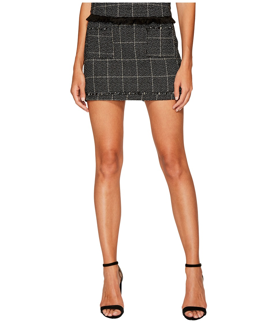 Bishop + Young Tweed Mini Skirt (Assorted) Women