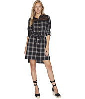 Bishop + Young - Plaid Shirt Dress
