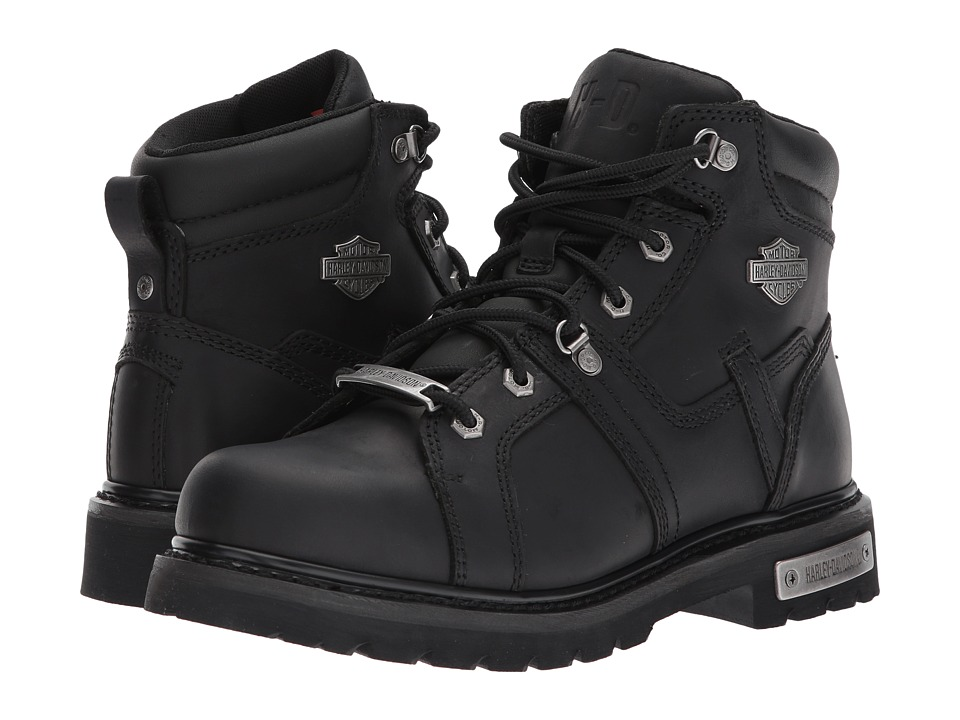 Harley-Davidson - Ruskin (Black) Mens Lace-up Boots
