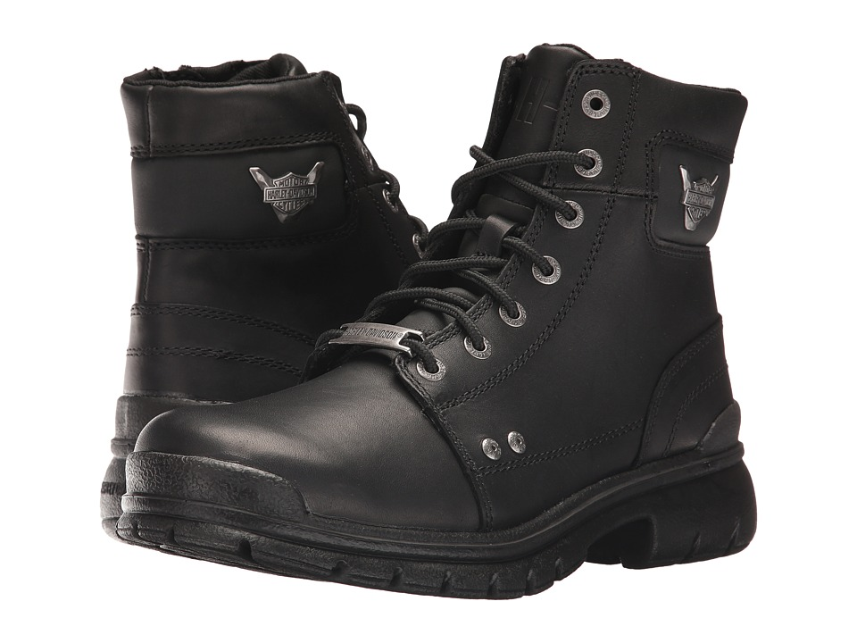 Harley-Davidson - Dunleer (Black) Mens Lace-up Boots