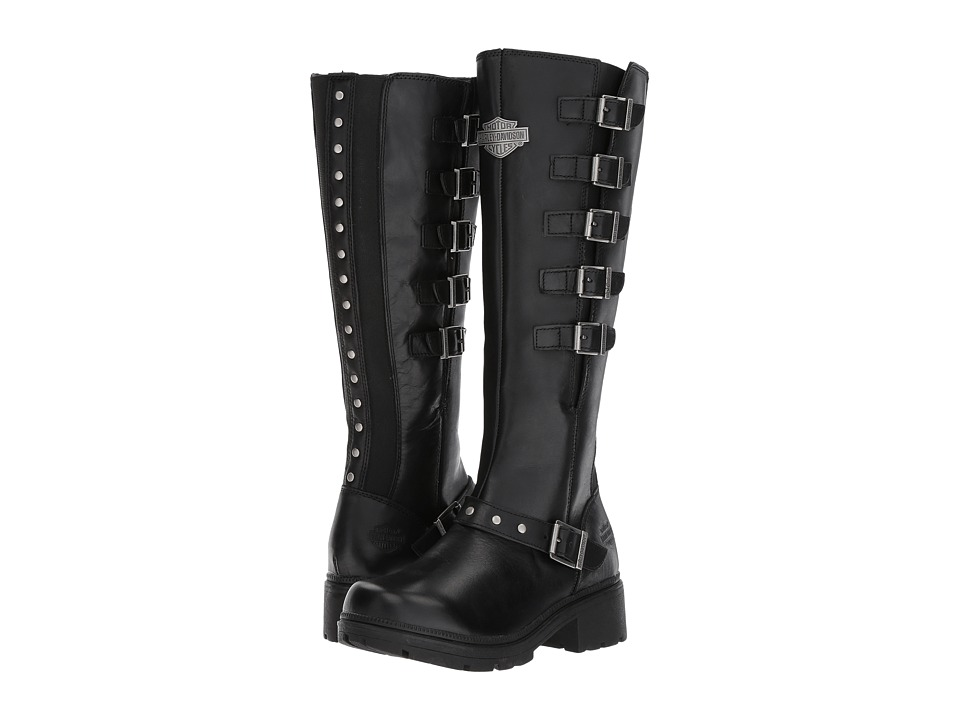 Harley-Davidson - Glassford (Black) Womens Lace-up Boots