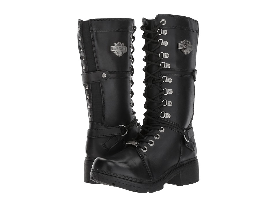 Harley-Davidson - Harland (Black) Womens Lace-up Boots