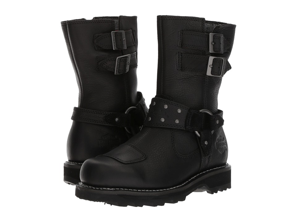 Harley-Davidson - Marmora (Black) Womens Pull-on Boots