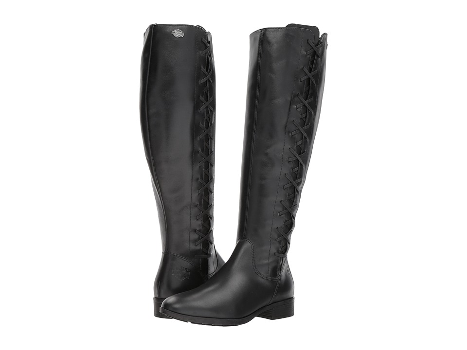 Harley-Davidson - Carrwood (Black) Womens Pull-on Boots