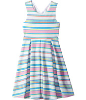 Us Angels - Textured Striped Print Knit Dress (Big Kids)