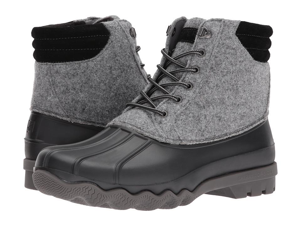 Sperry Avenue Duck Wool Boot (Grey/Black) Men
