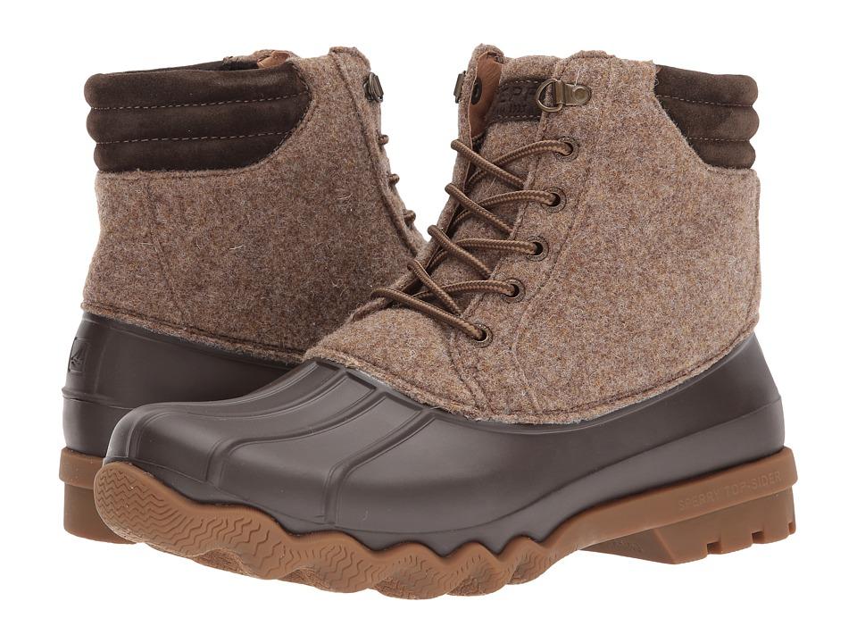 Sperry Avenue Duck Wool Boot (Brown) Men