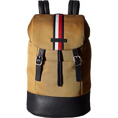 Tommy Hilfiger Hudson Nylon Backpack (British Tan or Tommy Navy)