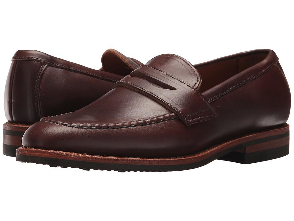 Image of Allen Edmonds - Addison (Brown Chromexcel Leather) Men's Slip-on Dress Shoes