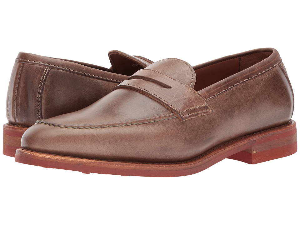 Image of Allen Edmonds - Addison (Natural Chromexcel Leather) Men's Slip-on Dress Shoes