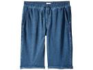 Hudson Kids - Pigment Dye Pull-On Shorts in Malibu Blue (Big Kids)