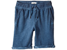 Hudson Kids - Pigment Dye Pull-On Shorts in Malibu Blue (Toddler/Little Kids/Big Kids)